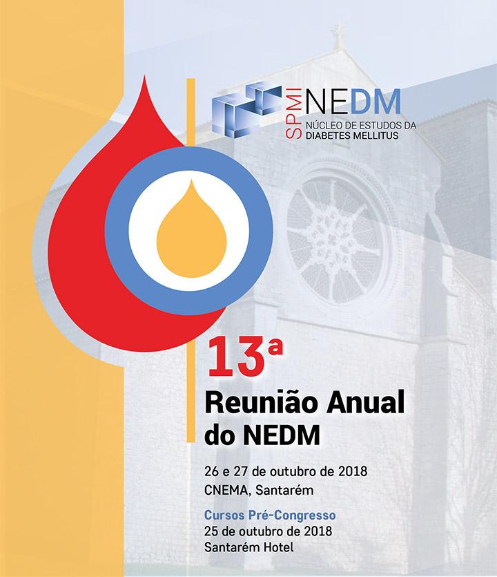 13ª Reunião Anual do Núcleo de Estudos de Diabetes Mellitus - Programa Preliminar