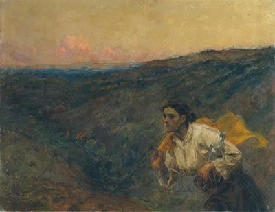 """""""O Remédio"""" do sec. XIX, por António Ramalho, 1859-1918"""