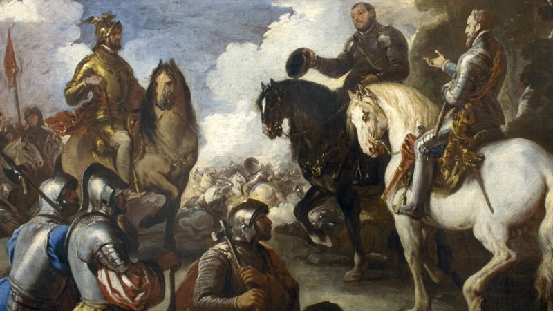 """MNAA-Museu Nacional de Arte Antiga – Inauguração da obra: Luca Giordano """"A Rendição do Eleitor da Saxónia perante Carlos V"""""""