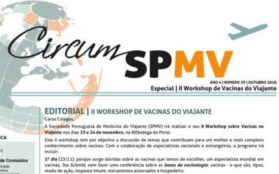 Newsletter da Sociedade Portuguesa de Medicina do Viajante – outubro 2018