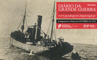 Sítio Web | Diário da Grande Guerra: testemunhos portugueses | outubro de 1918