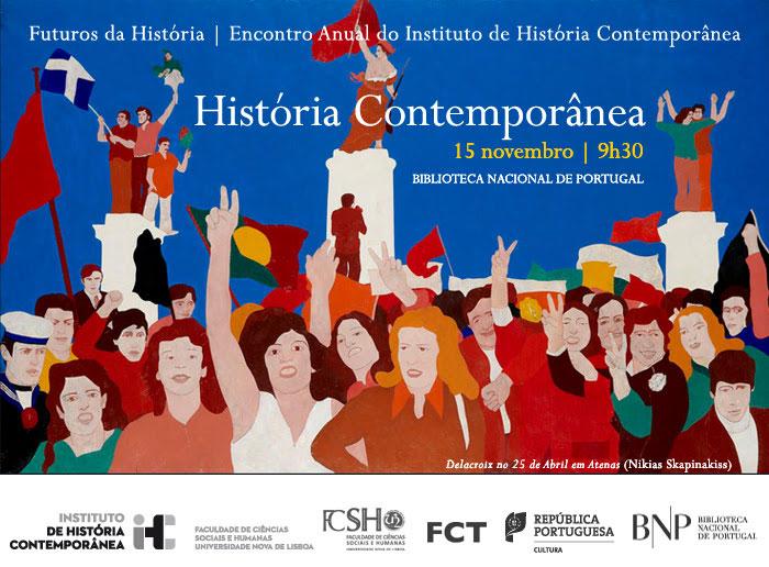 Encontro Anual IHC | Futuros da História | História Contemporânea | 15 nov. | 9h30 | BNP