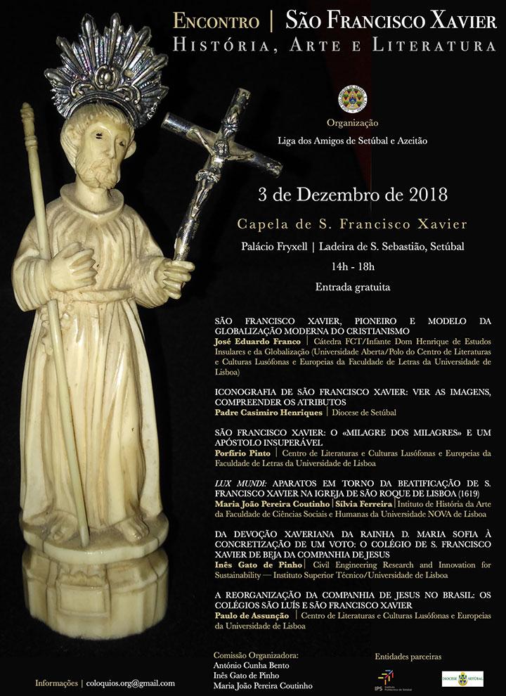 Encontro LASA: S. Francisco Xavier   História, Arte e Literatura