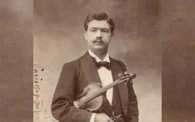 Lançamento CD / Recital | Francisco Benetó – Obras completas para violino e piano | 8 nov. | 18h00 | BNP