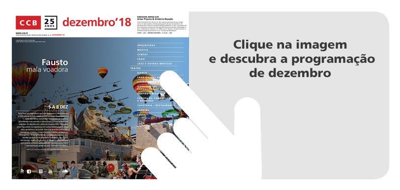 Centro Cultural de Belém | Programação de dezembro de 2018