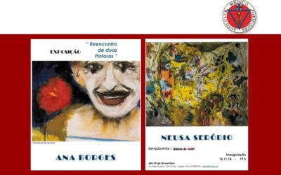 """""""REENCONTRO DE DUAS PINTORAS"""" – Ana Borges e Neusa Serôdio"""