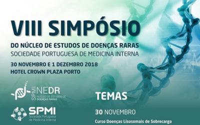VIII Simpósio do Núcleo de Estudos de Doenças Raras – Submissão de Resumos até dia 22/11
