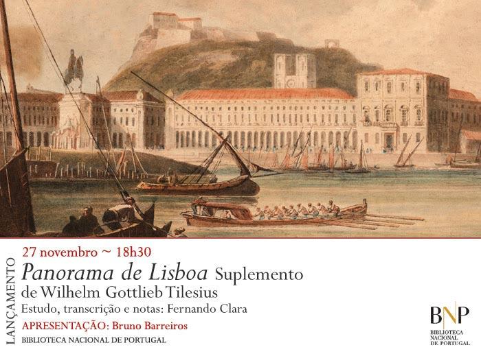Lançamento | Panorama de Lisboa | 27 nov. | 18h30 | BNP