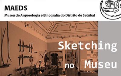 Sketching no Museu – MAEDS – 15 Dezembro – 14h30-17h30