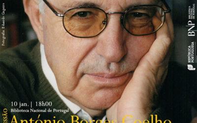 Sessão   António Borges Coelho   10 jan.   18h00   BNP