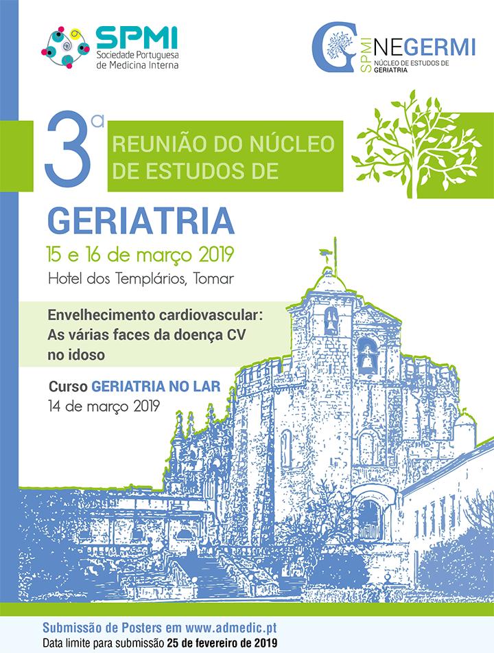 3ª Reunião do Núcleo de Estudos de Geriatria - Abstracts até dia 25/02