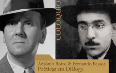 Colóquio | António Botto & Fernando Pessoa: Poéticas em Diálogo | 15 mar. – BNP / 16 mar. – Museu de Lisboa – Palácio Pimenta