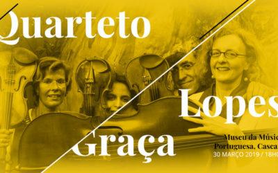 Joly Braga Santos revisitado por Quarteto Lopes-Graça – 30 Março | Cascais – Museu da Música Portuguesa