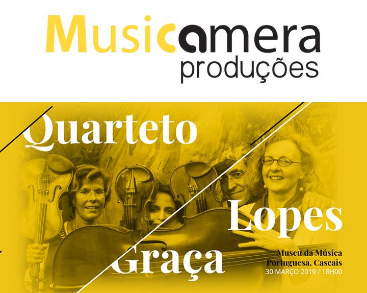 Joly Braga Santos revisitado por Quarteto Lopes-Graça - 30 Março | Cascais - Museu da Música Portuguesa