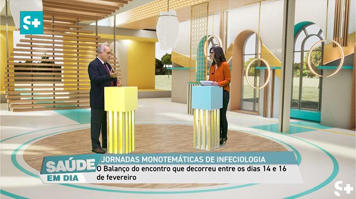 Entrevista com o Dr. José Poças sobre as IV Jornadas Regionais Monotemáticas de Infeciologia que decorreram entre os dias 14 e 16 de fevereiro