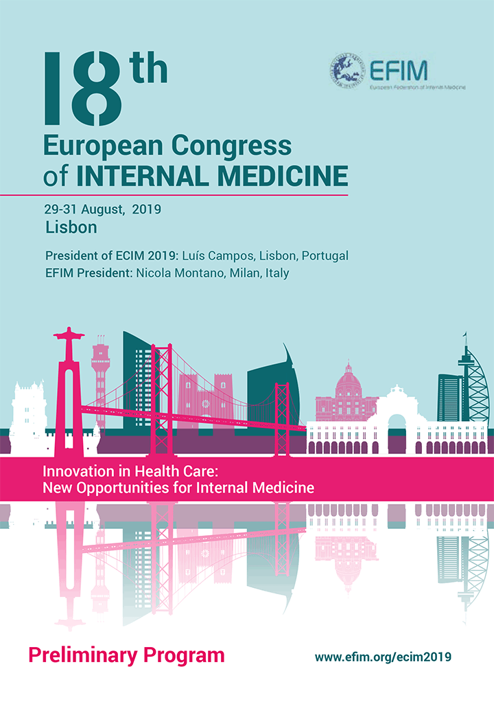 18º Congresso Europeu de Medicina Interna - Programa