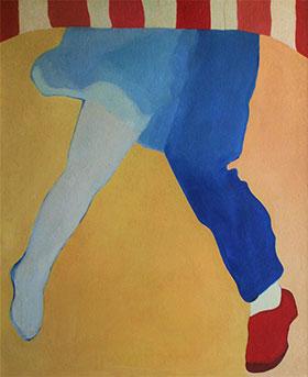 Pintura de Teresa Magalhães, 1969