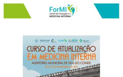 Curso de Atualização em Medicina Interna 2019 – Inscrições Abertas