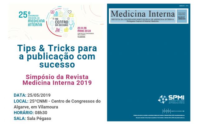 Simpósio da Revista de Medicina Interna 2019