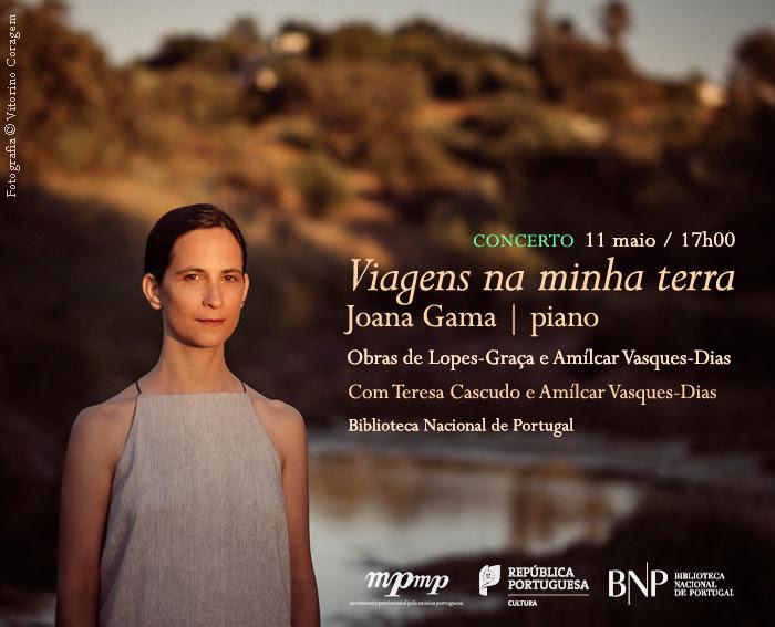Concerto | Viagens na minha terra | 11 maio | 16h00 | BNP