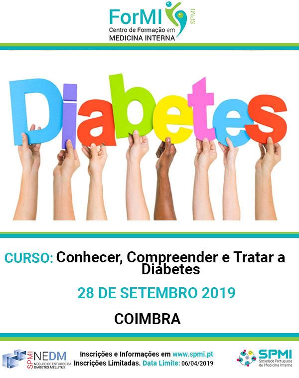 Curso Conhecer, Compreender e Tratar a Diabetes - Coimbra - Inscrições Abertas