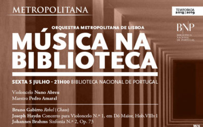 Música na Biblioteca | Orquestra Metropolitana de Lisboa | 5 jul. | 21h00 | BNP