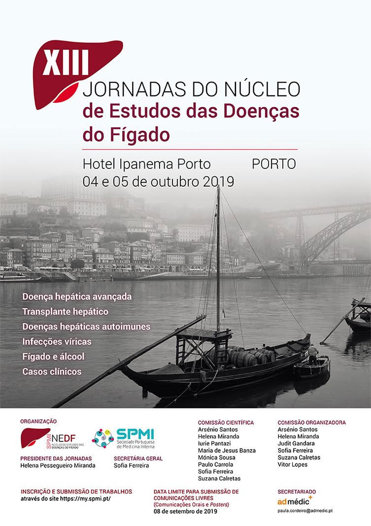 XIII Jornadas do Núcleo de Estudos das Doenças do Fígado