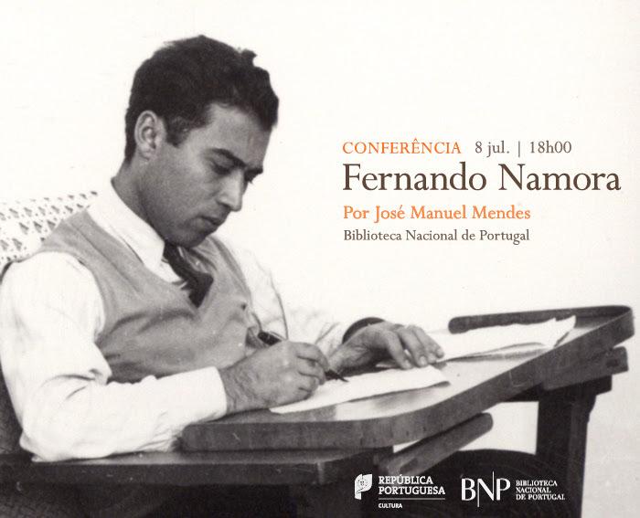 Conferência | Fernando Namora (1919-1989) | 8 jul. | 18h00 | BNP