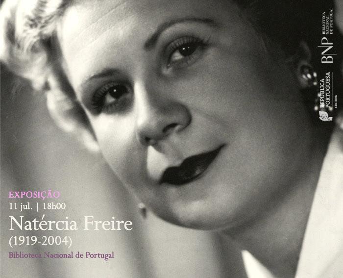 Exposição | Natércia Freire (1919-2004) | 11 jul. | 18h00 | BNP