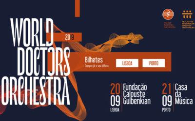 World Doctors Orchestra pela primeira vez em Portugal