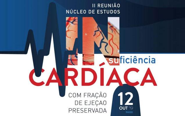 2ª Reunião do Núcleo de Estudos de Insuficiência Cardíaca – Inscrições Abertas