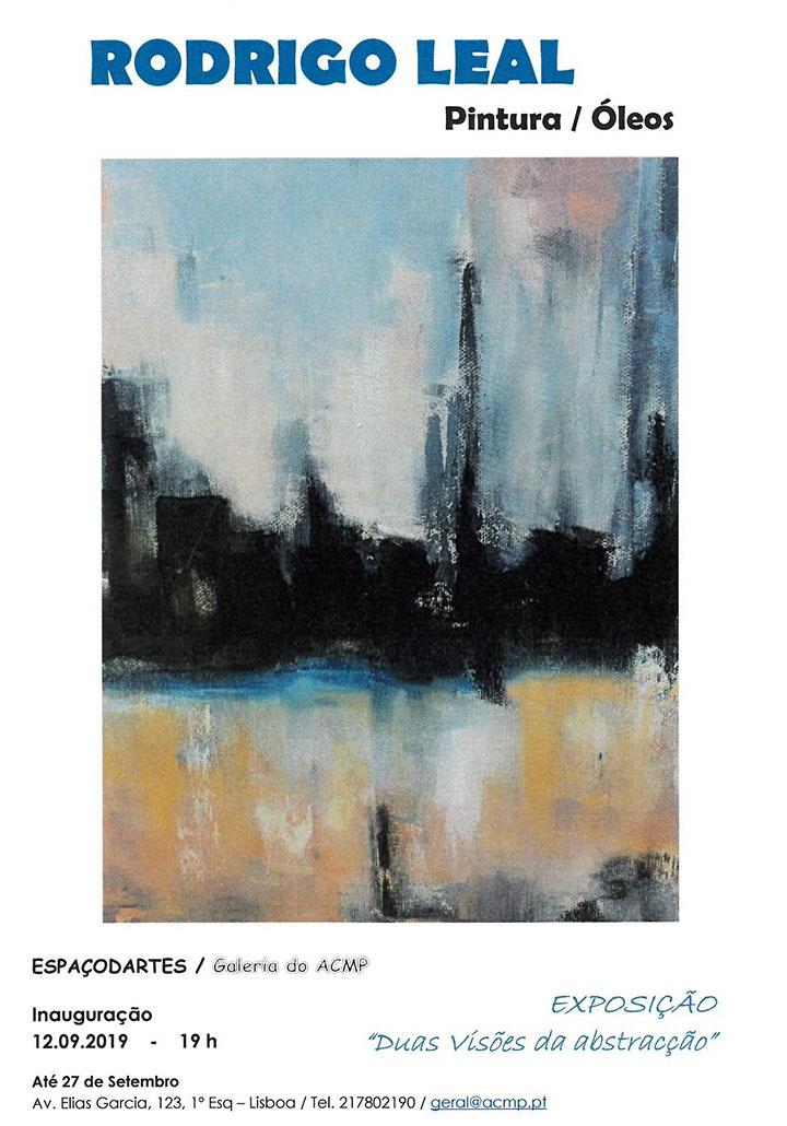 Duas Visões da Abstracção - Exposição
