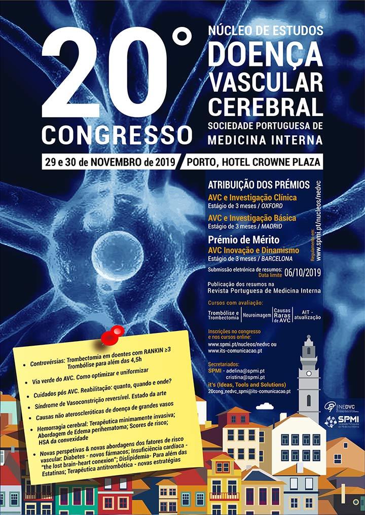 20º Congresso do Núcleo de Estudos da Doença Vascular Cerebral - Resumos até 6 de outubro