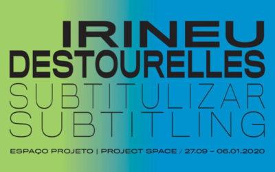 """Inauguração """"Irineu Destourelles"""""""