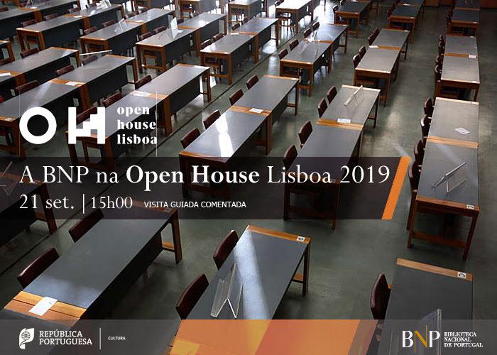 A BNP na Open House Lisboa 2019 | Visita comentada | 21 set. | 15h00 | BNP