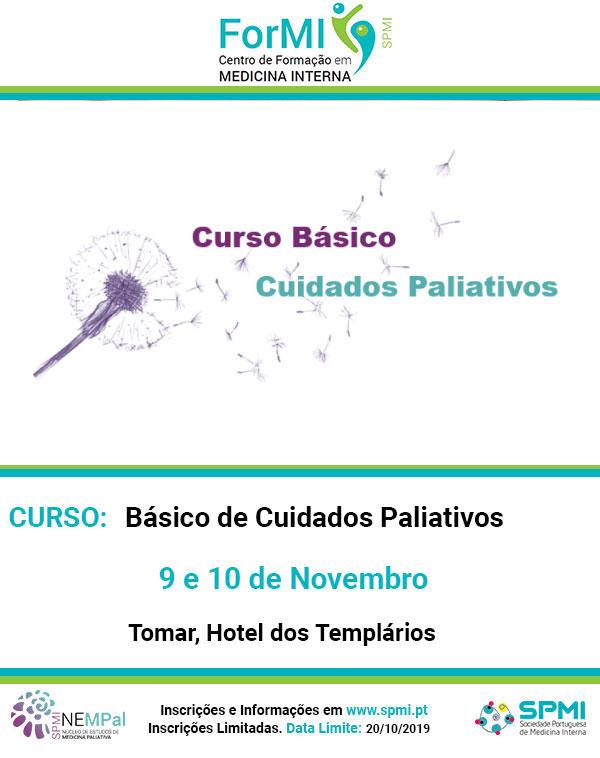 Curso Básico de Cuidados Paliativos - Inscrições Abertas