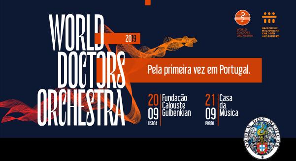 World Doctors Orchestra - Ainda há bilhetes para a estreia em Portugal