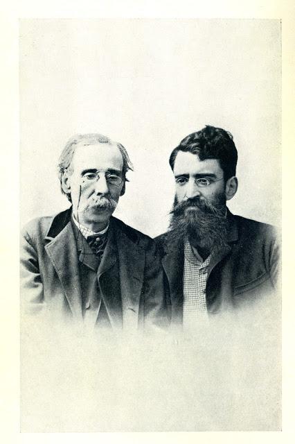 """""""Camilo Castelo Branco e Ricardo Jorge"""" (Fotografia do Atelier Peres & Vera, Porto)"""
