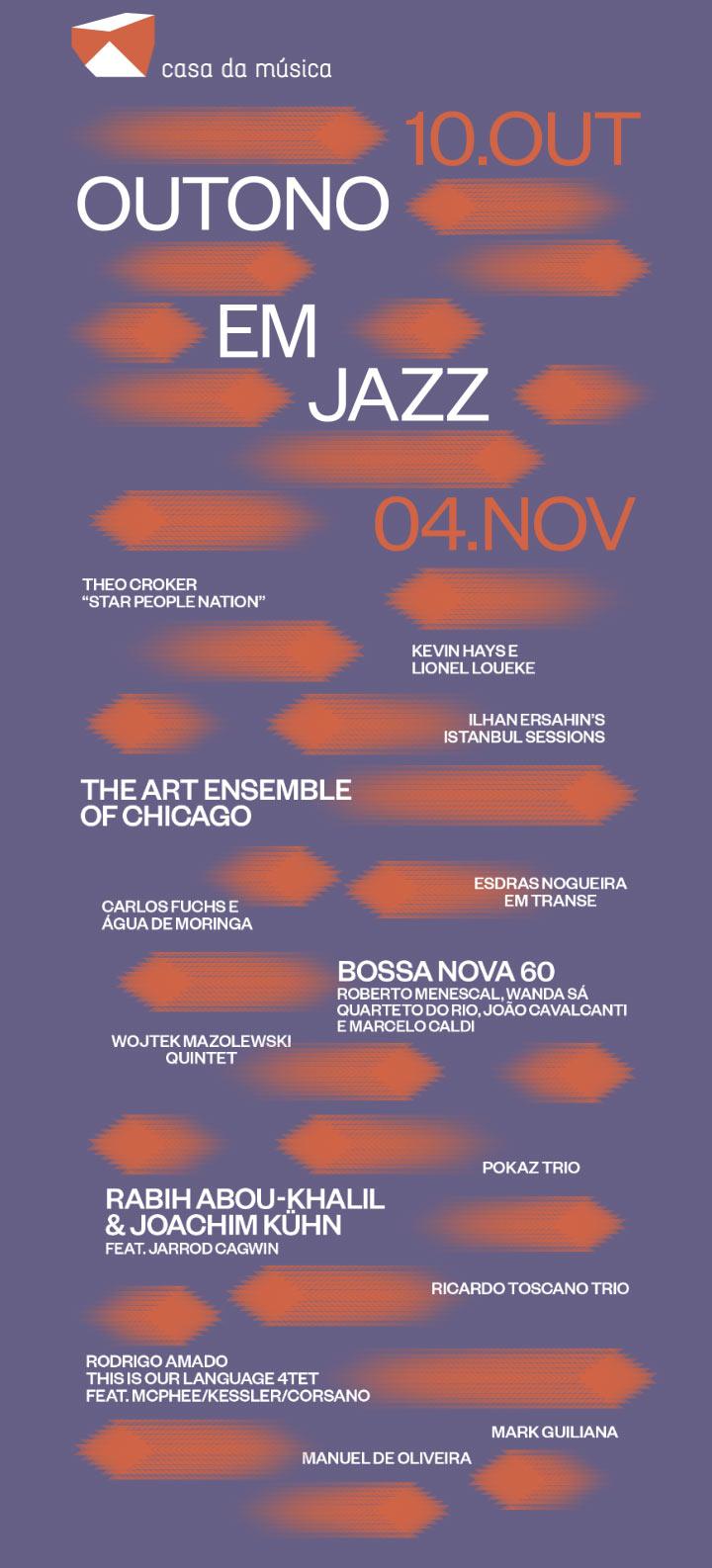Outono em Jazz · 10 de Outubro a 04 de Novembro
