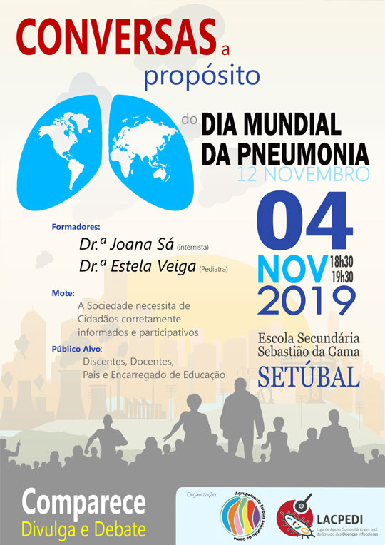 Conversas a propósito do Dia Mundial da Pneumonia 12 de novembro
