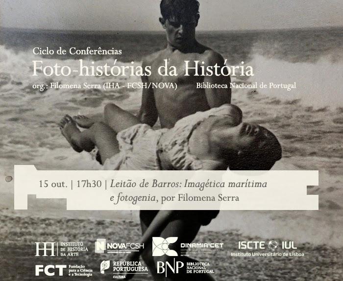 Ciclo de Conversas | Foto-histórias da História - Leitão de Barros: Imagética marítima e fotogenia | 15 out. | 17h30 | BNP