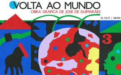 Exposição | Volta ao mundo : Obra gráfica de José de Guimarães | 22 out. | 18h00 | BNP