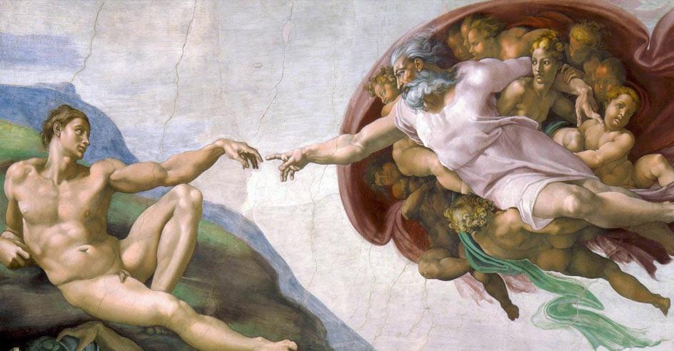 """""""A criação de Adão"""""""