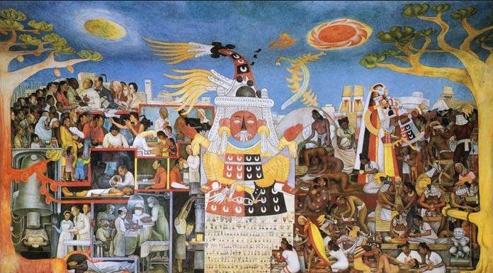 """""""A História da Medicina"""" (1953) e """"História da Cardiologia"""" (1944) de Diego Rivera, 1886-1957"""