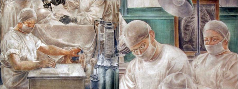 """""""A Primeira utilização do éter em estomatologia"""", """"Prelúdio"""" e """"Moderna Cirurgia e anestesia"""""""