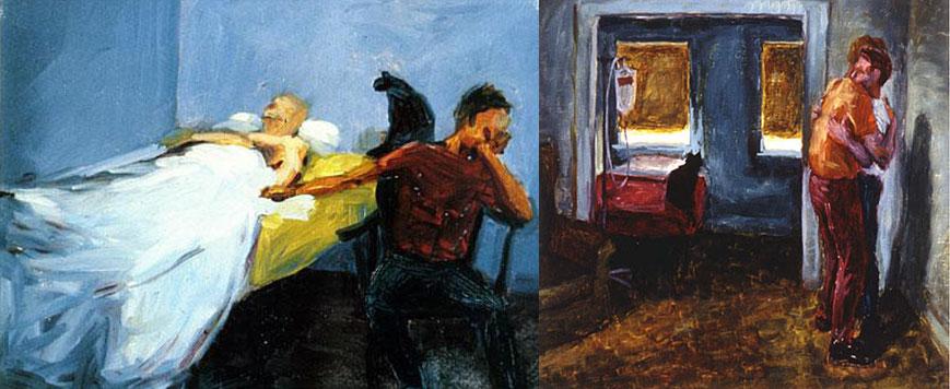 """""""Respiração"""" (1987) e """"Abraço"""" (1992) de Hugh Steers, 1962-1995"""