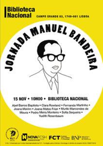 Colóquio | Manuel Bandeira | 15 nov. | 10h00 | BNP