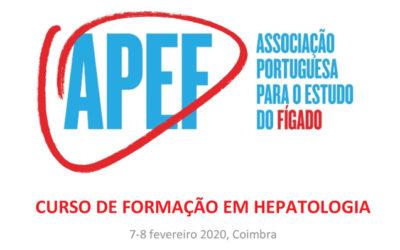Curso de Formação em Hepatologia: edição 2020 – dias 7 e 8 de fevereiro 2020