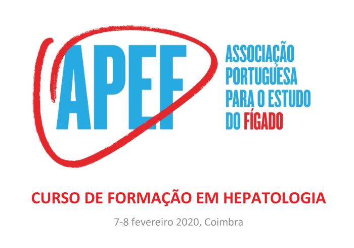 Curso de Formação em Hepatologia: edição 2020 - dias 7 e 8 de fevereiro 2020
