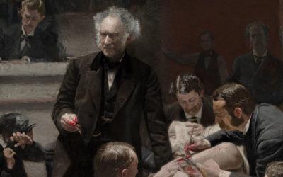 """""""Ephraim Mcdowell realiza a primeira cirurgia abdominal para remoção de um tumor do ovário"""", """"A primeira ooforectomia"""", """"Ignaz Semmelweis"""", """"Ignaz Semmelweis na enfermaria"""", """"Joseph Lister"""""""